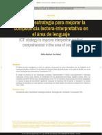Las TIC Estrategia Para Mejorar La Competencia Lec