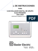Manual Controlador Basler DGC-200