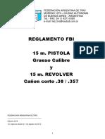 Fat Reglamento FBI
