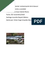 Proyecto Ambiental Ambiente y Sociedad