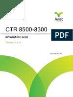 CTR 8500-8300 3.4.0 Installation Guide_June2017