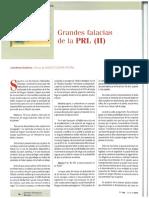 Grandes Falacias de la PRL 2 Psicosociologia