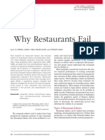 Why Restaurants Fail Cornell University
