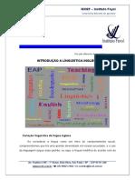 2- Introdução a Linguistica Inglesa