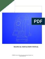 Manual Estacion Total Sunway Ats120r