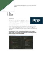 Software y Materiales Utilizados Para La Creacion de Registro y Consulta Del Sistema de Record de Notas