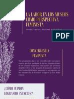 La Labor en Los Museos Como Perspectiva Feminista (2) 2019 (2)