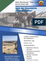ESTUDIO DE TRAFICO EN EL CERCADO DE ICA