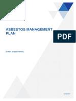 Asbestos TEMPLATE Asbestos Management Plan