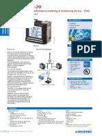Medidor Digital de Potencia Socomec, LCD