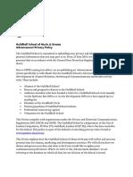 PNA18.1 Advancement Privacy Notice