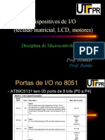 Aula 3 - Teclado Matricial- LCD e Motores