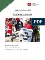 Final Project Labour Relation