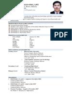 Resume Sample 2019