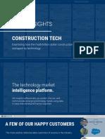 CB Insights Construction Tech Webinar