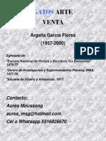 Gatos Arte (Venta 2019) Argelia Garcia Flores
