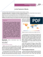 Pharmacological Advances to the Treatment of Obesity