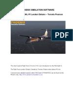Dash 8 Q300 - PSS - Tutorial 1