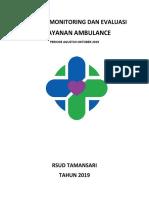 Laporan Triwulan Monev Ambulans