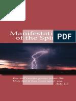 Manifestation of the spiritu