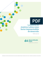 2. La Justicia en America Latina Como Factor Imprescindible