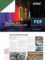 AscTec Research Line Catalogue
