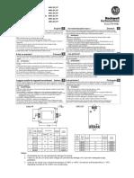 4983-DC120, Protección Contra Sobretensión y Armónicos