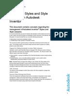 Manage Style Lib
