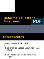 Equipo 3 Reforma Del Estado Mexicano