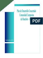 Plan de Desarrollo Comunal