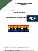 Trabalho Discriminação em Função da Orientação Sexual