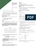 Exam 1 Cheat Sheet