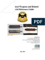 Old Chemical Weapons and Related Materiel