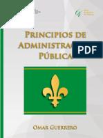 PRINCIPIOS DE ADMINISTRACION PUBLICA