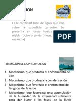 Clase II - Preciptacion-i