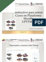 Instructivo Para Armar Un Curso en Plataforma Moodle UPTTMBI