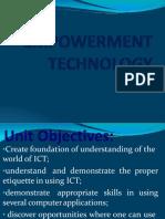 Technology empowerment