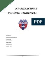 Mejoramiento de La Materia Prima Para Un Menor Impacto Medio Ambiental