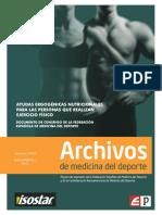 Archivos Medicina Deportiva