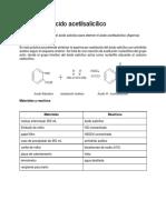 Síntesis de Ácido Acetilsalicílico (1)