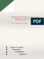 P02 Conceptos Básicos MUSEOGRAFÍA