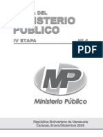 Revista Del Ministerio Publico de Venezuela Nº 4 2005
