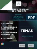 Tratamiento Primario (DAF IAF y Filtracion)