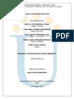 – Fase 6 – Evaluación Final POA