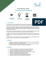 1. Temario_Sistemas Eléctricos de Distribución