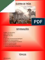 Apresentação - A Guerra de Troia (Filosofia)