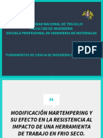 MODIFICACIÓN MARTEMPERING