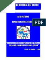 Esp.tecnicas Estructura