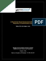 HRMLedger Secured Online Platform for Background Verification from DocsLedger.com