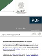 Acciones Correctivas y Preventivas 260614